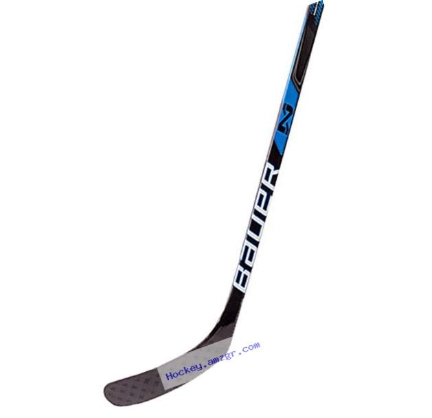 Bauer 87LFTP92 H16 Nexus Senior N 6000 Grip Hockey Stick, Black, Left Hand