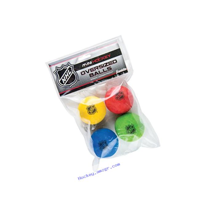 Franklin Sports NHL Oversized Foam Mini Hockey Balls