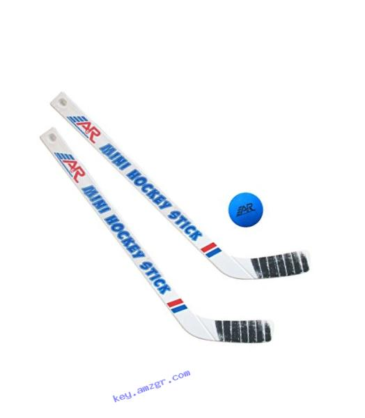 A&R Sports Team Mini Hockey 2 Piece Stick and Ball Set