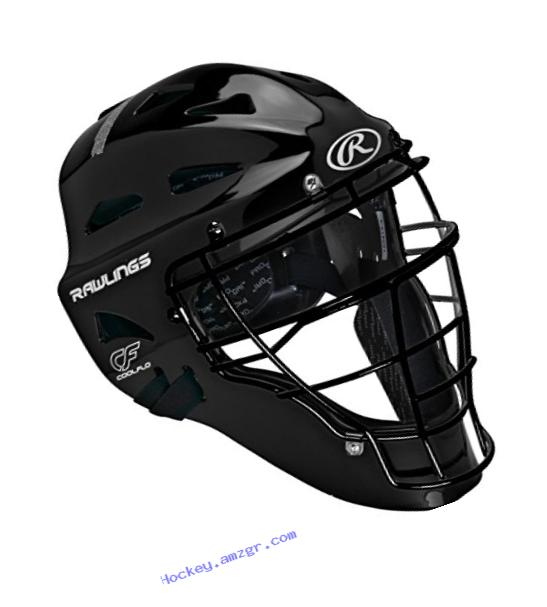 Rawlings Sporting Players Series Goods Catchers Helmet, Black