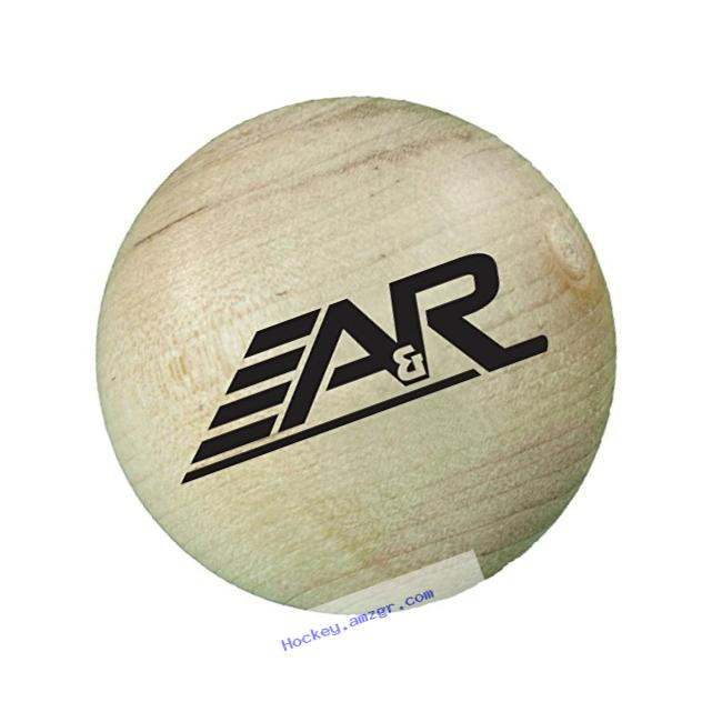 A&R Sports Wood Stick Handling Ball