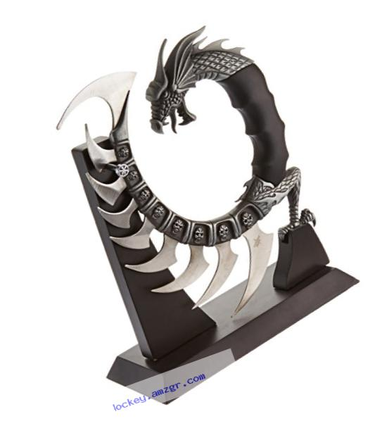 Fantasy Master FM-571 Fantasy Dragon Show Blade with Stand, 8-Inch Overall