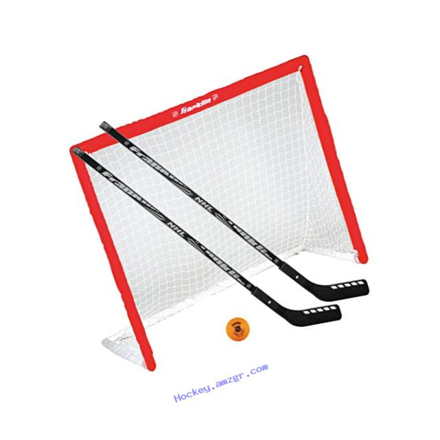 Franklin Sports NHL Goal, Stick & Ball Set