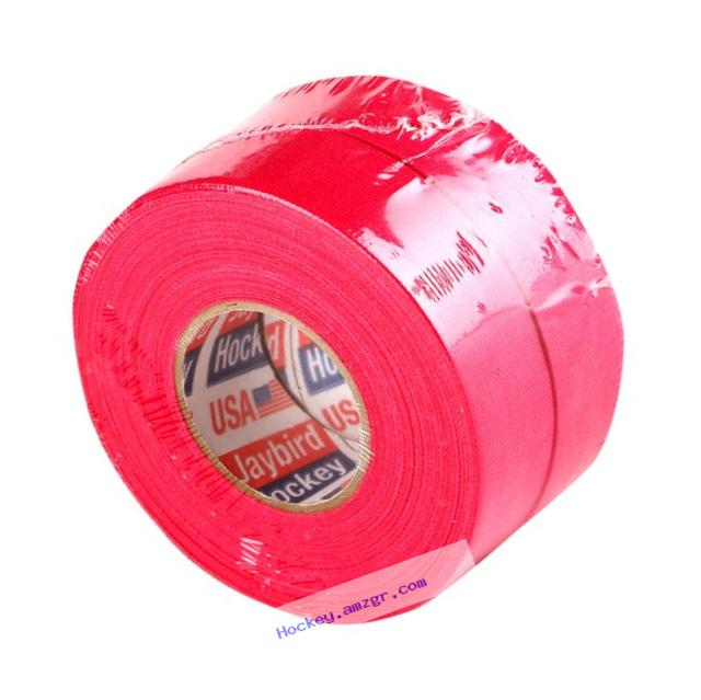 Jaybird & Mais Hot Pink Cloth Hockey Tape (2-Pack)